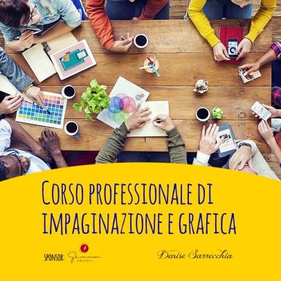 Corso professionale di impaginazione e grafica